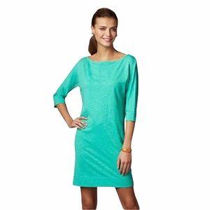 Lilly Pulitzer Cassie Lagoon Green Knit Dress - XS
